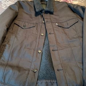Levi Strauss and Co Sherpa Lined Bomber Jacket
